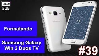 getlinkyoutube.com-Samsung Galaxy Win 2 Duos - Formatação / restauração de fábrica