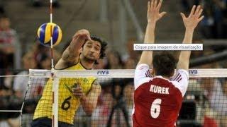 getlinkyoutube.com-POLÔNIA X BRASIL - LIGA MUNDIAL 2013 - Men's Volleyball World League