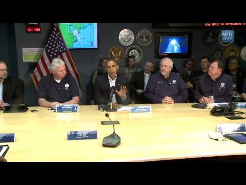 USA UPDATE 1; Hurricane Update; President Obama speaks on Hurricane Sandy and FEMA