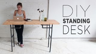 getlinkyoutube.com-DIY Standing Desk