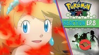 Pokemon XYZ Anime Reaction Ep. 8 - Dance, Eevee! Its TriPokalon Debut!!