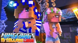 LITTLE CARLY LIES TO LITTLE KELLY!! Minecraft Murder Mystery