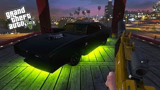 getlinkyoutube.com-GTA 5 Next Gen - GTA Online First Person Races, Survival Challenges & Rampage! (GTA 5 PS4 Gameplay)
