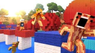 Minecraft Breakfast Brigade : WIPEOUT!