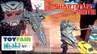 getlinkyoutube.com-Transformers The Last Knight Movie and Generations Action Figures at New York Toy Fair 2017