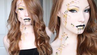 getlinkyoutube.com-Queen Bee Makeup/Hair Tutorial