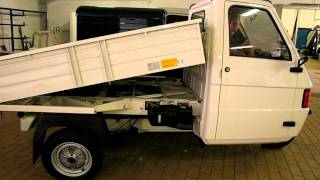 getlinkyoutube.com-Piaggio Ape Tipper