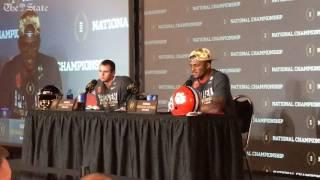getlinkyoutube.com-Deshaun Watson explains decision to enter the NFL draft