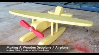 getlinkyoutube.com-Making A Wooden Seaplane / Airplane