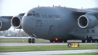 getlinkyoutube.com-C-17 Lands at small commuter airport by accident