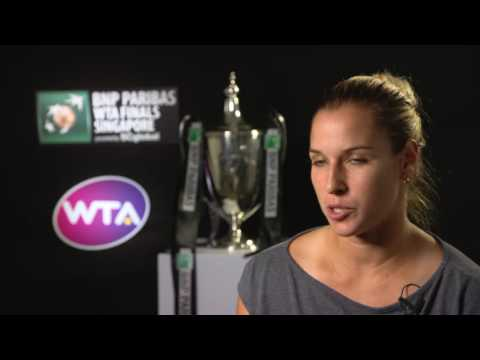 2016 WTA Finals Singapore Final: Dominika Cibulkova Post Match Interview