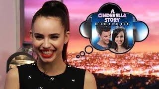 getlinkyoutube.com-Sofia Carson Estrena Película de Cenicienta- A Cinderella Story y habla de Descendientes 2!