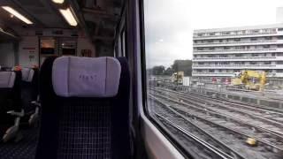 Leaving London Waterloo On A Southwest Class 444 (25/9/16)