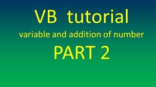 getlinkyoutube.com-variable and sum of two number calculation  in visual basic form part 2