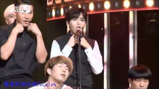 getlinkyoutube.com-140904 Super Junior Shirt RyeoWook focus (Mirrored)