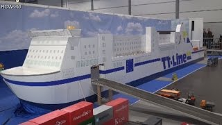getlinkyoutube.com-RC Trucks LKW Minitruck Modellbau ♦ Modell Hobby Spiel Leipzig 2015 Modellbaumesse Model Building