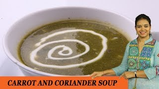 getlinkyoutube.com-CARROT AND CORIANDER SOUP - Mrs Vahchef