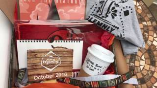 getlinkyoutube.com-Harry Potter Subscription Box unboxing by Geek Gear Box For October 2016