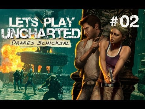 Let´s Play Uncharted: Drakes Schicksal #02 [German] [HD] - Der Eingang nach El Dorado!