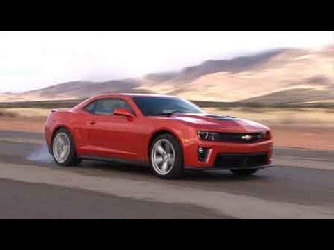 Racing The All New 2012 Chevrolet Camaro ZL1