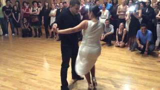 getlinkyoutube.com-Melanie Torres and Gabriel Perez Sexy Salsa Social Dancing!!