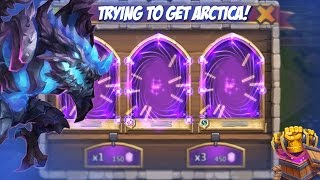getlinkyoutube.com-Castle Clash Rolling Gems (trying to get Arctica)