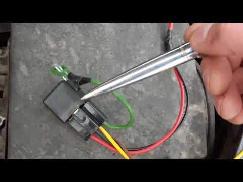Правильное подключение ДХО, загораются после запуска двигателя, форд фокус 2.
