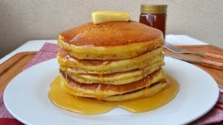 getlinkyoutube.com-How to Make American Pancakes - Easy Homemade Pancake Recipe from Scratch