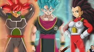 getlinkyoutube.com-OMFG NEW SAIYANS!!! Dragon Ball Super Tournament: Universe 6 Saiyan Fighters Vs Universe 7