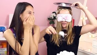 getlinkyoutube.com-COTTON BALL CHALLENGE met BEAUTYNEZZ