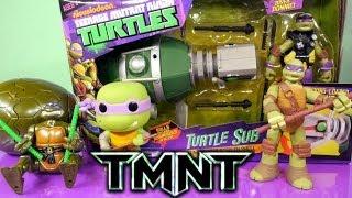 getlinkyoutube.com-Teenage Mutant Ninja Turtles Donatello Full Episode Toys And Surprise Packs By Disney Cars Toy Club