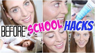 getlinkyoutube.com-10 BEFORE SCHOOL HACKS: FRISCH + WACH AUSSEHEN + LEICHT AUFSTEHEN! | LaurenCocoXO