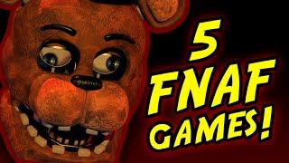 getlinkyoutube.com-FNAF!? || 5 Five Nights At Freddy's Fan-Games