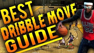 getlinkyoutube.com-NBA 2K16 Tips: Best DRIBBLE MOVE Guide - BEST Money Dribble Moves in MyPark/Pro-Am!