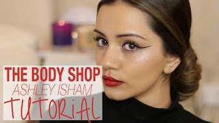 getlinkyoutube.com-Tutorial | The Body Shop x Ashley Isham AW15 Tutorial | Kaushal Beauty ad