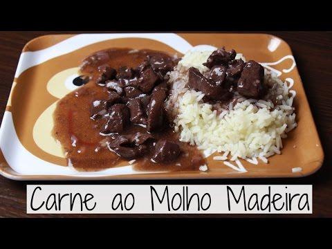 Carne ao Molho Madeira - Brincando de Ana Maria