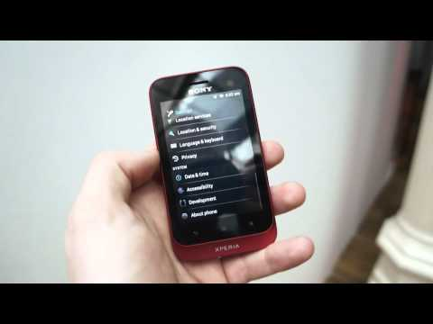 Sony Xperia Tipo Hands-On