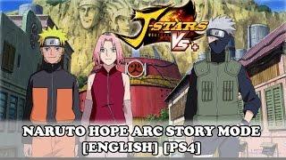 getlinkyoutube.com-J-Stars Victory VS+ Naruto Hope Arc Story Mode Movie Walkthrough  [ENGLISH] [PS4]