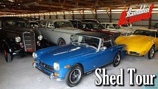 getlinkyoutube.com-Shed Tour Country Classic Cars Nov 9, 2016