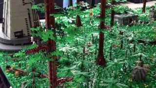 getlinkyoutube.com-My NEW IMPROVED GREATEST LEGO ENDOR MOC of ALL TIMES!!!!!