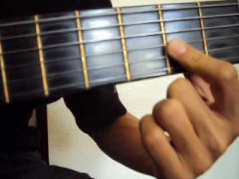 Las manos derecha e izquierda  clase 3 lecciones clases  guitarra  3  Diego Erley