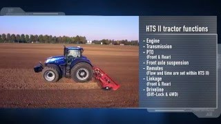New Holland #T7HeavyDuty in action - HTS II