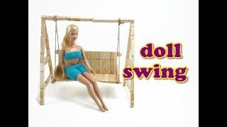 getlinkyoutube.com-Doll Furniture Tutorial - Swing