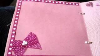 getlinkyoutube.com-Mi Primer Mini Album Scrapbook