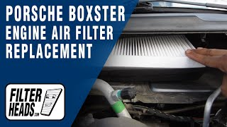 getlinkyoutube.com-Cabin air filter replacement - Porsche Boxter