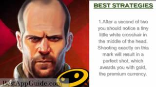 getlinkyoutube.com-Sniper X with Jason Statham - Tip - Tricks - Strategies - Get Gold Quick - IOS ANDROID !