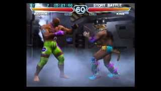 getlinkyoutube.com-Tekken 4 (PlayStation 2) Story Battle as Marduk