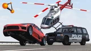 BeamNG Drive Police Chases, Fails, Crashes, Drift Compilation