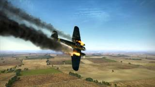 getlinkyoutube.com-IL 2  Sturmovik  Battle of Stalingrad Crash montage #2
