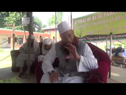 Revival of Real Parenthood in Amira Kadal Higher Secondary  21 June 2014  Part1